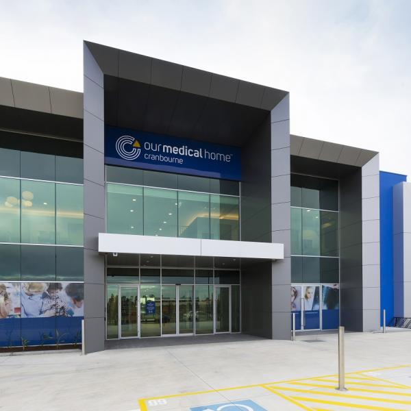 Our Medical Home Cranbourne building