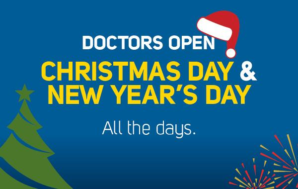 Doctor open at Christmas